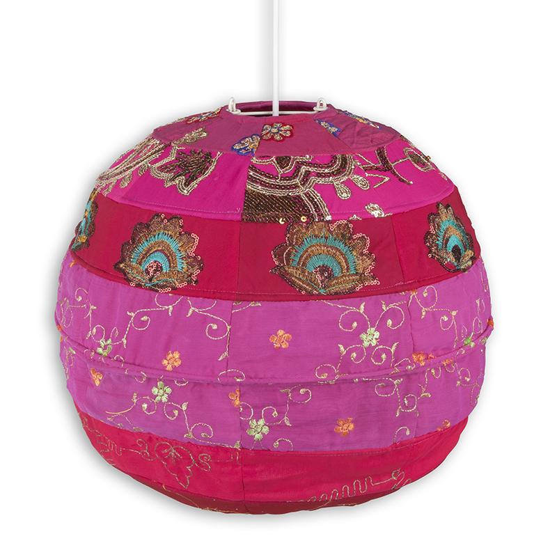 Colorique Bindi Hanglamp Vintage Sari
