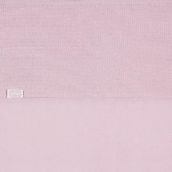 Jollein Laken 75x100cm Mini waffle vintage pink