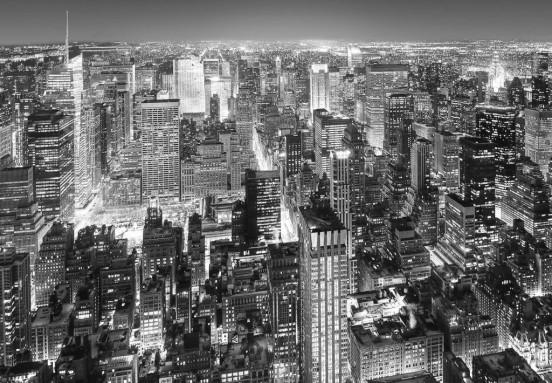 Wizzard and Genius Fotobehang Midtown New York