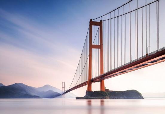 Wizzard and Genius Fotobehang Xihou Bridge