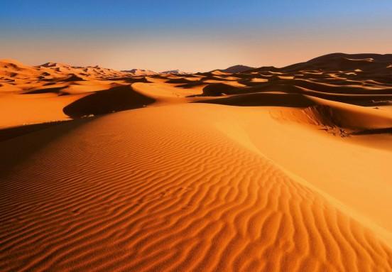 Wizzard and Genius Fotobehang Desert Landscape