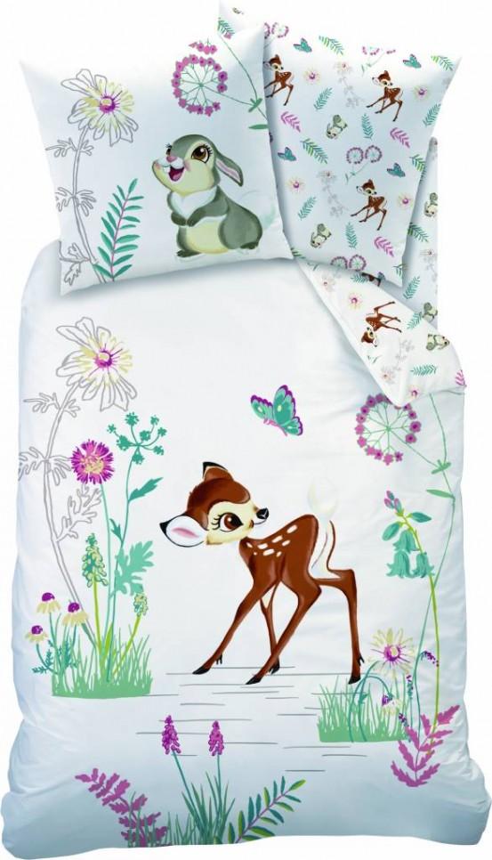 Bambi Dekbedovertrek In Het Veld