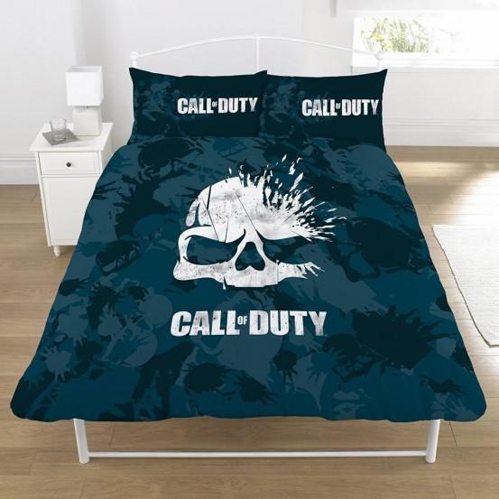 Call of Duty Dekbedovertrek Broken Skull