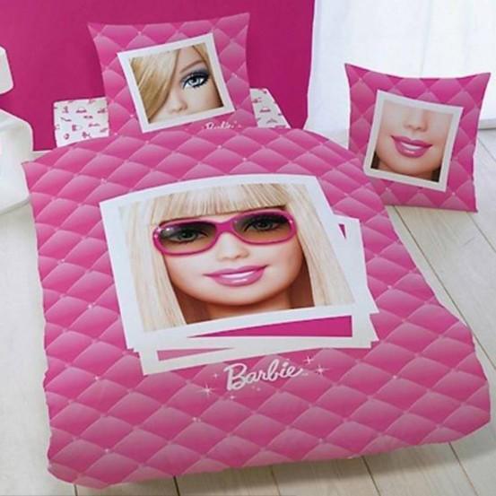 Barbie dekbedovertrek Portrait 3D