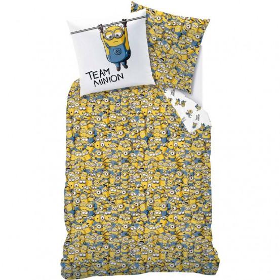 Minions Dekbedovertrek Friends + Pyjama Bag