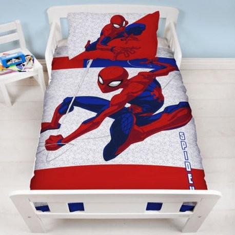 Spider-Man Dekbedovertrek Metropolis Junior