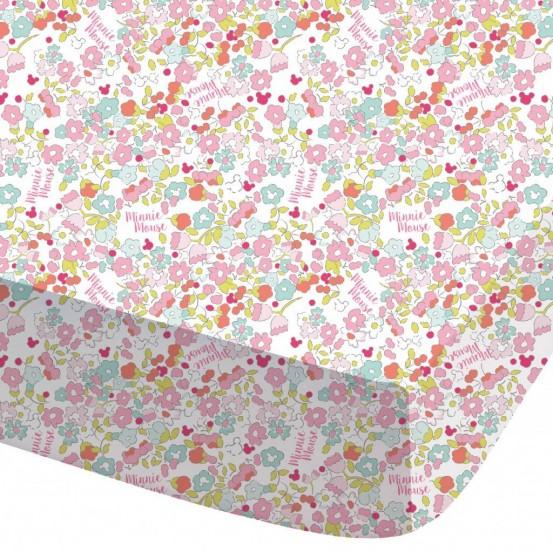 Bloom -  Hoeslaken - Eenpersoons - 90 x 200 cm - Multi