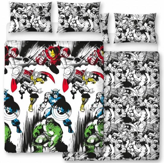 Marvel Comics dekbedovertrek Crop 200 x 200 cm