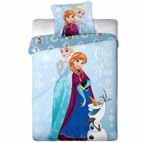 Frozen dekbedovertrek Elsa & Anna Flanel