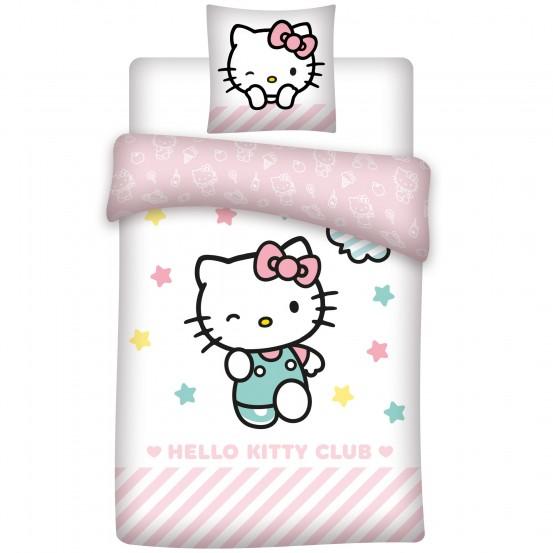 Hello Kitty Dekbedovertrek Club