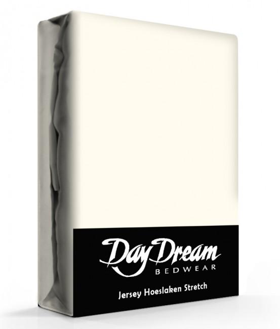 Day Dream Jersey Hoeslaken Ecru-90 x 200 cm