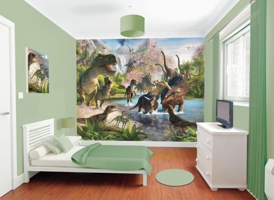 Dinosaurus Fotobehang (Walltastic)