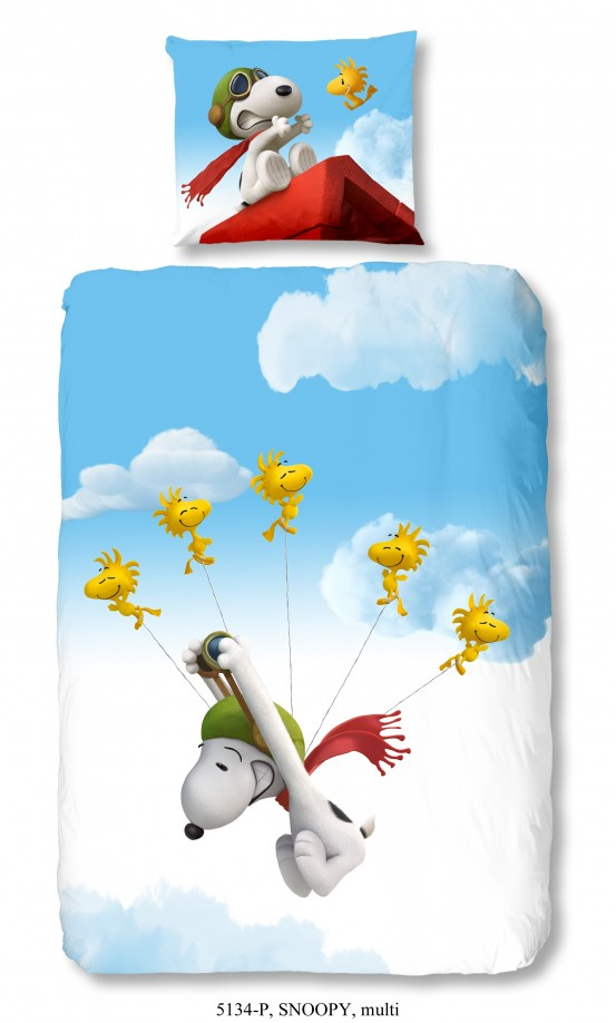 Snoopy Dekbedovertrek Fly 3D