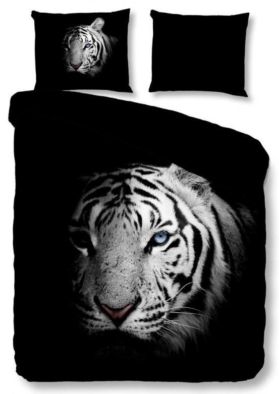 Pure Dekbedovertrek Tiger Black