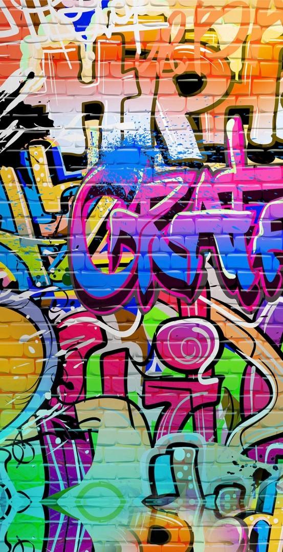 Good Morning Kids Strandlaken Graffiti