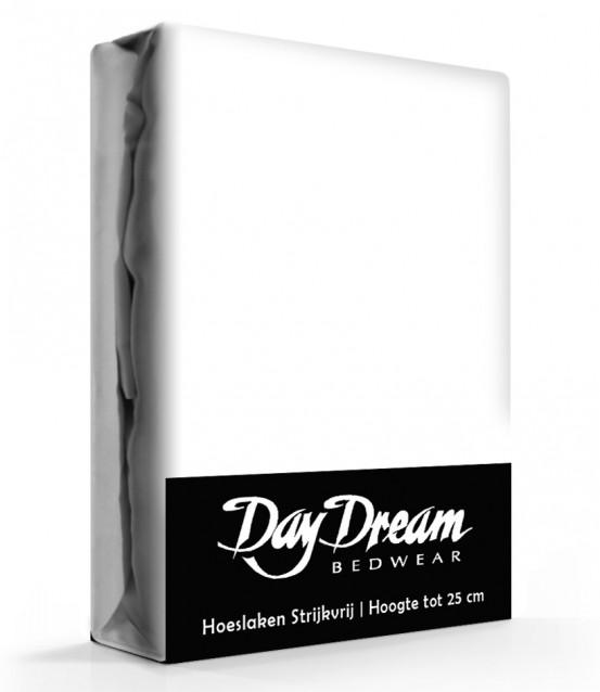 Day Dream Hoeslaken Katoen Wit