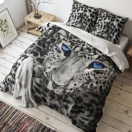 Sleeptime Dekbedovertrek Cheetah Grey