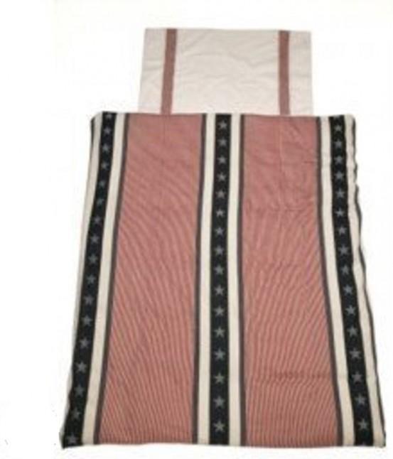 Jollein - Overtrek en sloop 120x150cm Stars & Stripes