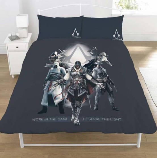 Assassins Creed Dekbedovertrek Serve the Light Tweepersoons 200 x 200 cm
