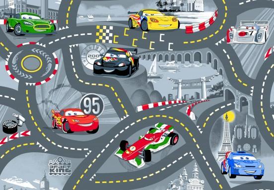 Speelkleed Cars 95 x 133 cm