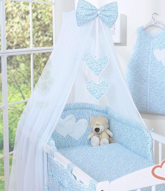 My Sweet Baby Sluier Voile Bloem/Blauw