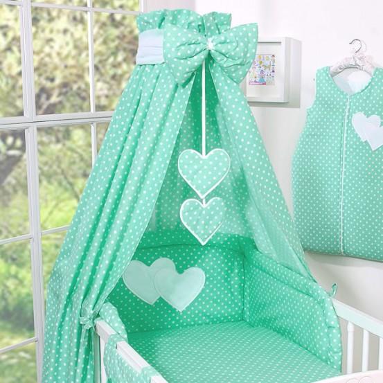 My Sweet Baby Hemel Katoen Dots Mint