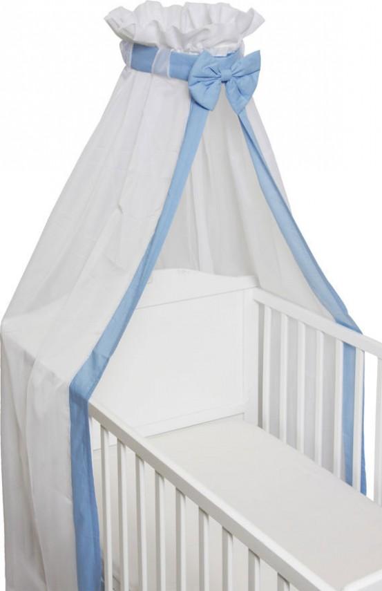 Baby Sluier Strik Blauw