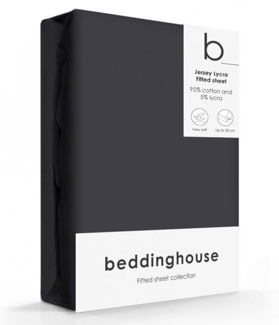 Beddinghouse Jersey-Lycra Hoeslaken Antracite