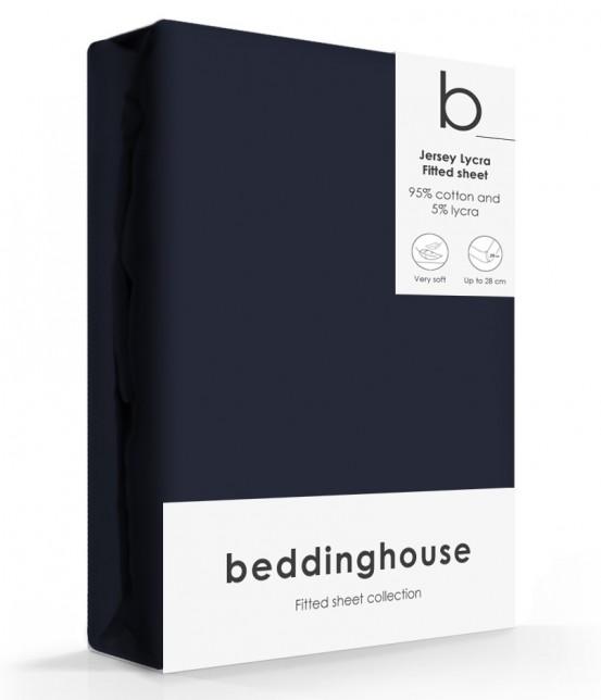 Beddinghouse Jersey-Lycra Hoeslaken Indigo