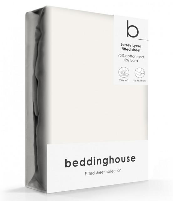 Beddinghouse Jersey-Lycra Hoeslaken Natural