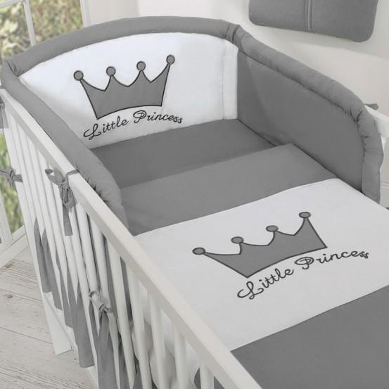 Bedomrander Little Prince/Princess Antraciet