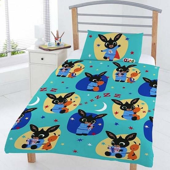 Dekbedovertrek Bing Bunny Bedtime 120 x 150 cm