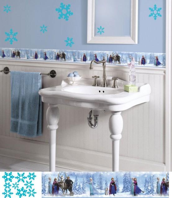 Frozen Behangrand (RoomMates)