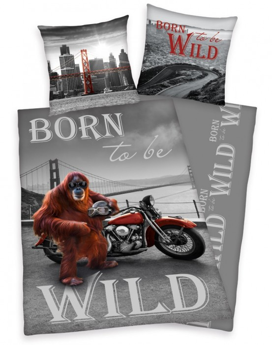 Born to be Wild Dekbedovertrek