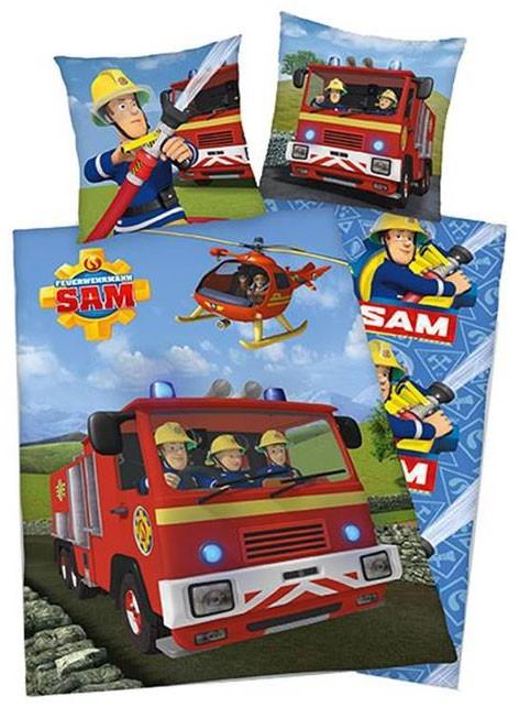 Dekbedovertrek Sam de Brandweerman Flanel