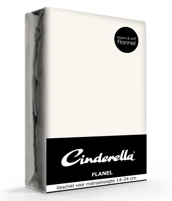 Cinderella Flanellen Hoeslaken Ivory