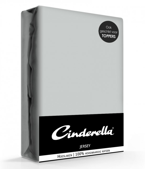 Cinderella Jersey Hoeslaken Light Grey