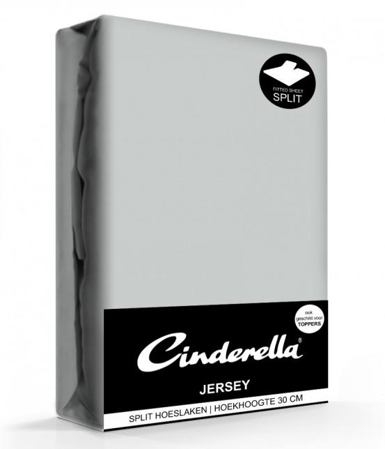 Cinderella Jersey Splithoeslaken Light Grey