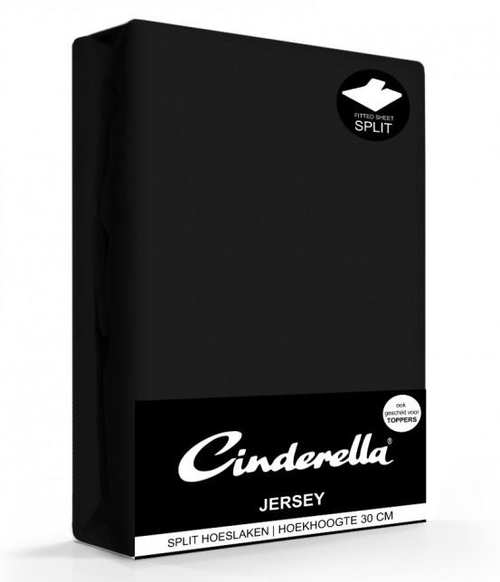 Cinderella Jersey Splithoeslaken Black
