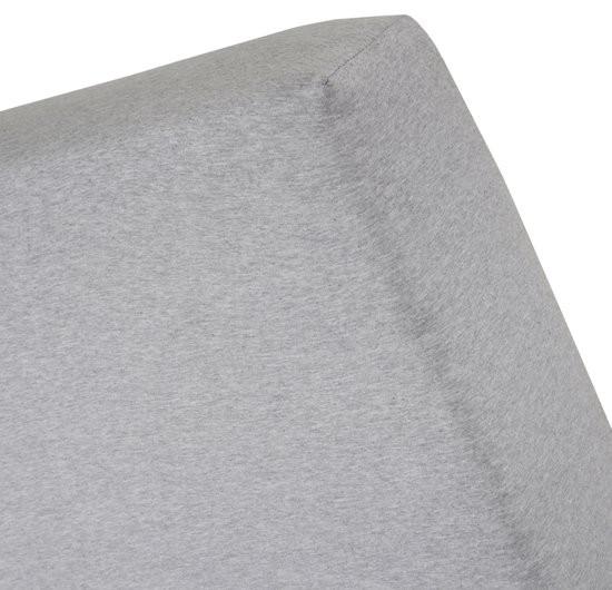 Cinderella Jersey Melange hoeslaken Light Grey