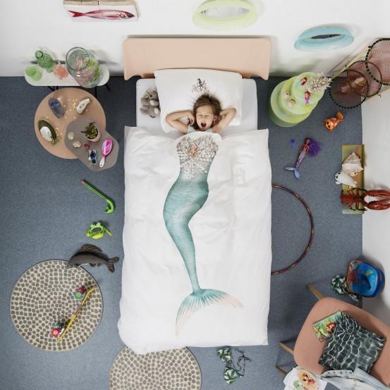 Snurk Beddengoed Mermaid-140x200/220