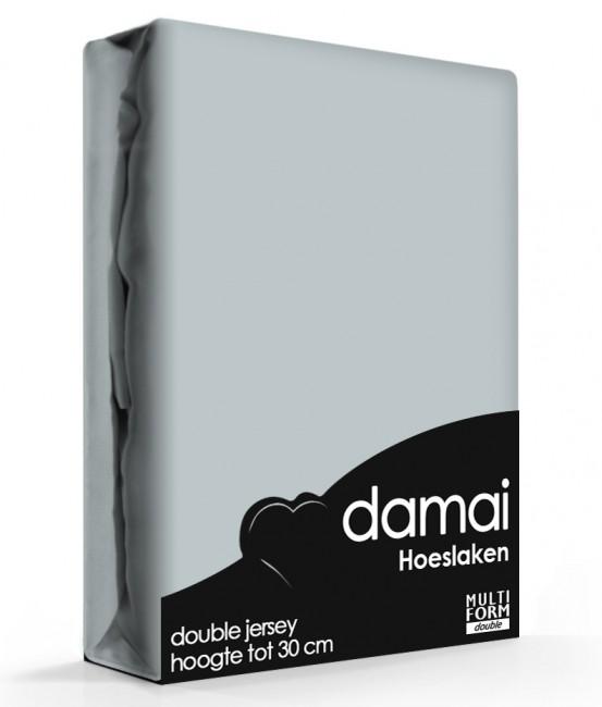 Damai Multiform Double Jersey Hoeslaken Grey