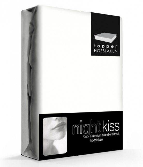 Damai/Nightkiss Topper Hoeslaken Katoen Wool White (15cm)