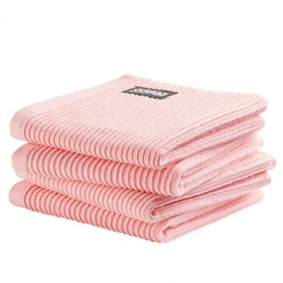DDDDD vaatdoek Basic Pastel Pink (4 stuks)
