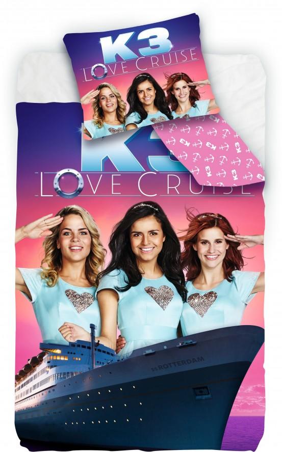 K3 Dekbedovertrek Love Cruise
