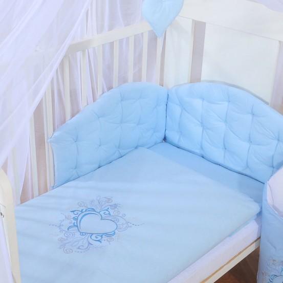 My Sweet Baby Dekbedovertrekset Chique Blauw