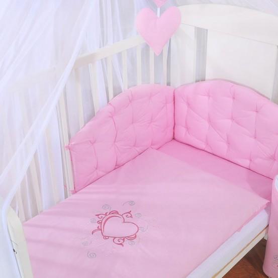 My Sweet Baby Dekbedovertrekset Chic Roze