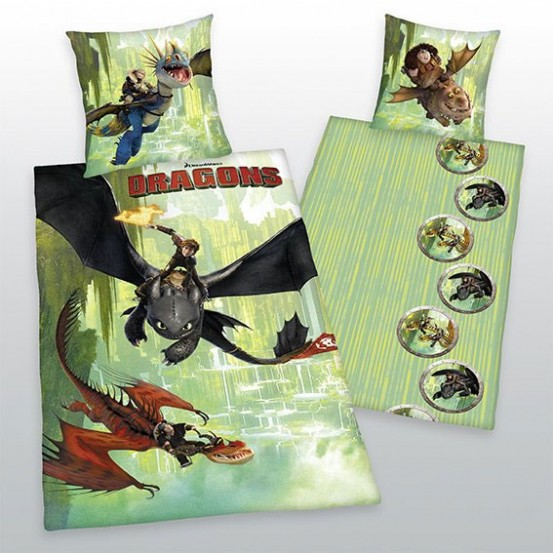 Toothless How To Train Your Dragon Dekbed