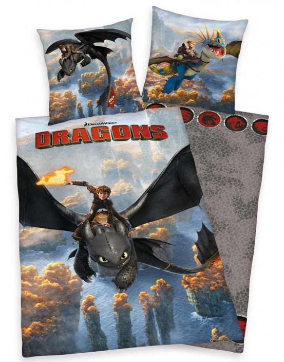 How to Train Your Dragon Dekbed
