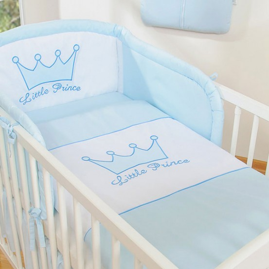 My Sweet Baby Overtrekset Little Prince Blauw